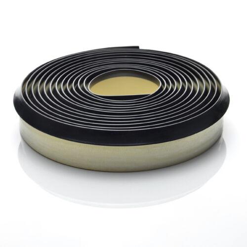 Nischenprofil Dichtleiste Leiste Weich 4,2m Dichtungsprofil PVC schwarz