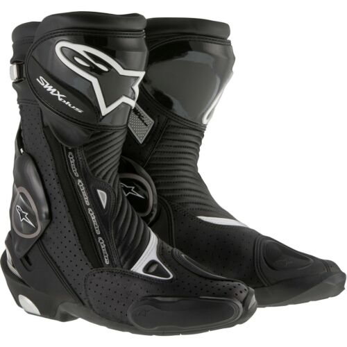 Alpinestars SMX Plus Vented Motorcycle Boots Black
