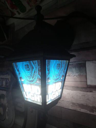 Bud Light Bar Pub Lantern Man Cave Lamp
