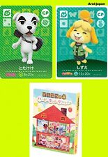 New amiibo card KK K.K. + Shizue isabelle + album pikopuri 2016 April CP Animal
