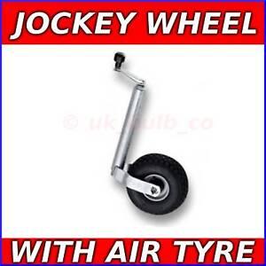 Trailer-48mm-Jockey-Wheel-with-Pneumatic-air-tyre-BNIB