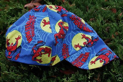 Spiderman Red/'s American Made Welding YellowMoon Biker,Hat Cap $7.50 each,