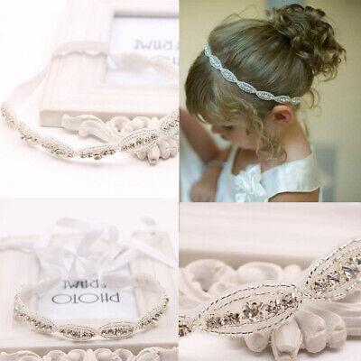 Fashion Baby Princess Flower Girls Kids Hair Band Children Rhinestone Headbands