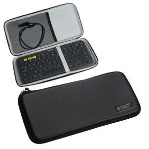 for logitech k380 bluetooth keyboard eva travel storage carrying case cover bag ebay. Black Bedroom Furniture Sets. Home Design Ideas