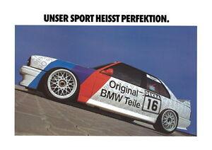 BMW E30 M3 DTM  Motorsport print # 16