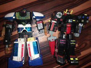 Power Rangers Lightspeed Rescue Intermediate Solarzord And Supertrain Megazord