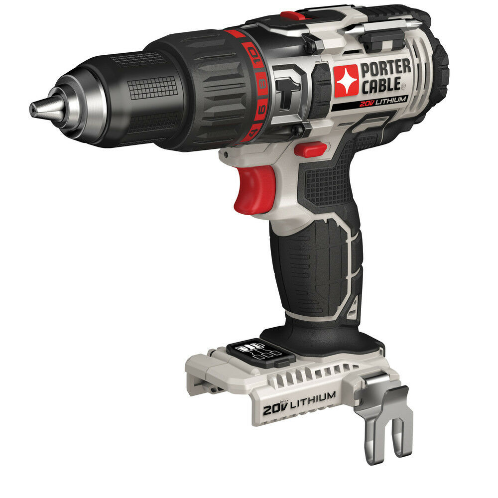 Porter-Cable 20V MAX Li-Ion Hammer Drill (Tool Only) PCC620B New. Available Now for 78.50