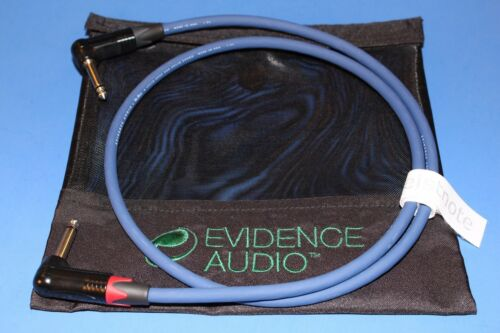 5/' Speaker Cable ~ Evidence Audio Siren II 5 ft Gold or Nickel Plugs ~ FREE BAG