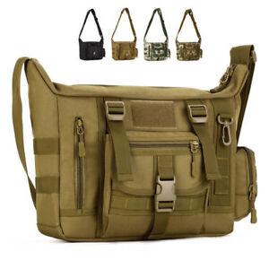 6f434d47fa Image is loading Men-Nylon-Messenger-Shoulder-Bag-Military-Tactical-Camping-