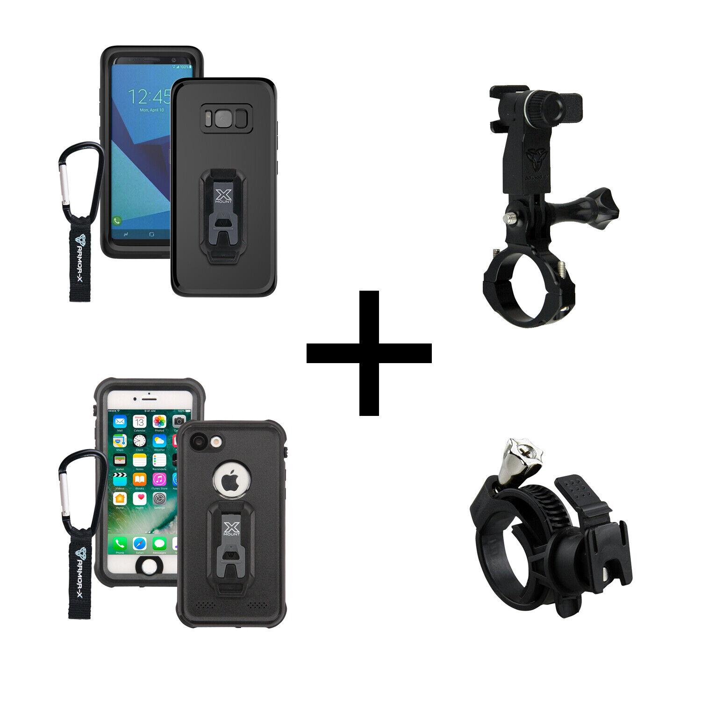 ArmorX ip68 Impermeabile Bicicletta Cellulare Supporto Smartphone da Bici