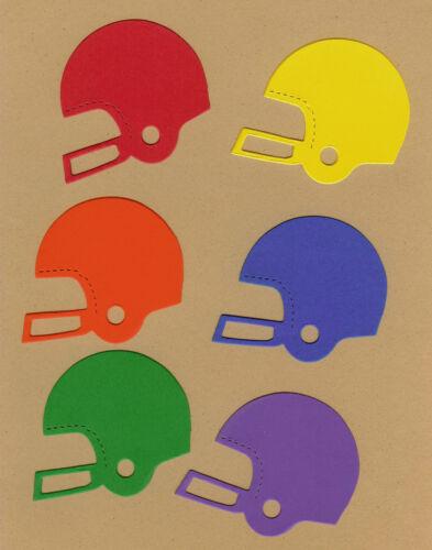 AccuCut Football Helmet Die Cuts