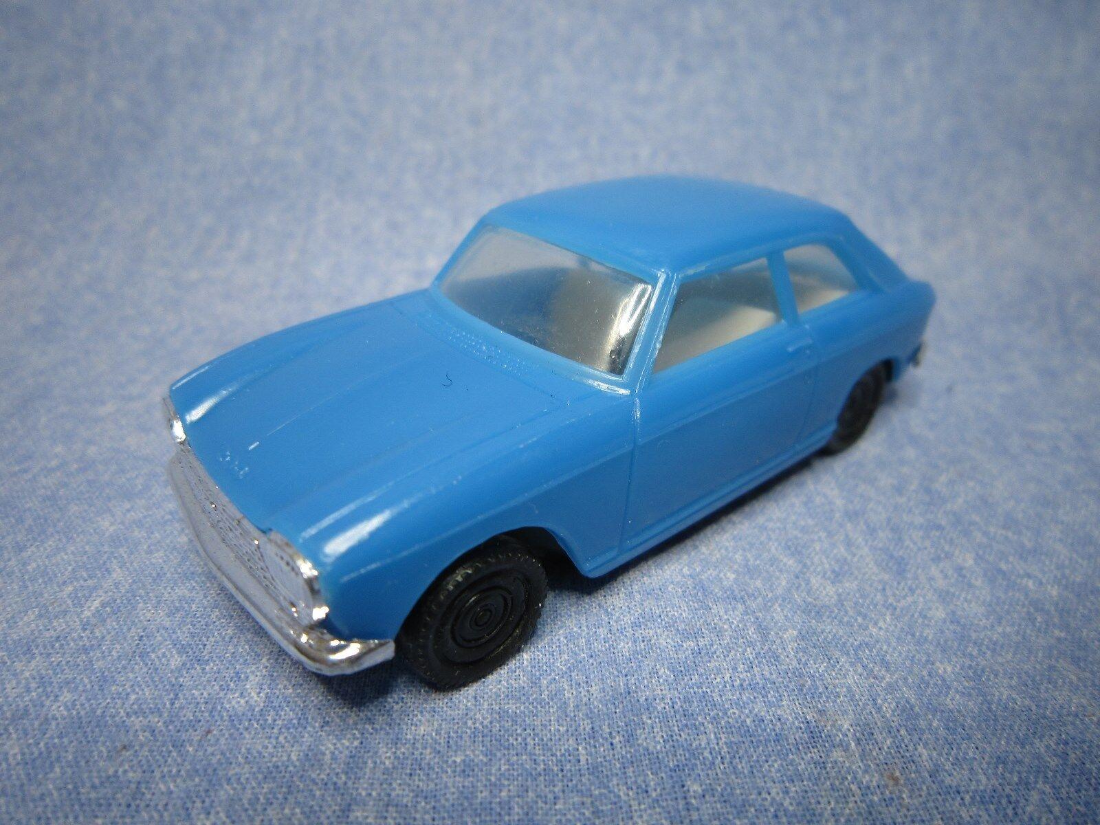Ae798 injectaplastic 1 43 peugeot 204 coupe bluee etat neuf tres rare