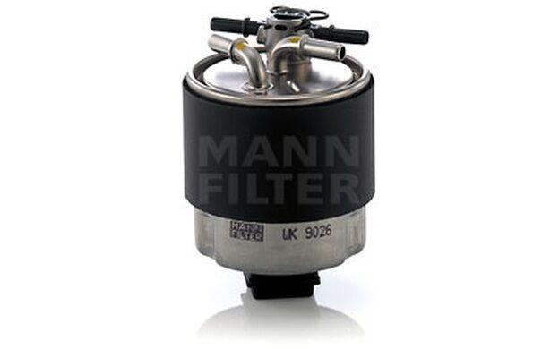 MANN-FILTER Filtro combustible NISSAN QASHQAI NV200 WK 9026