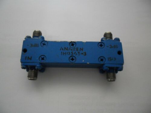 RF 1H0565-3 Hybrid Coupler Anaren Microwave 1-2GHz 3db