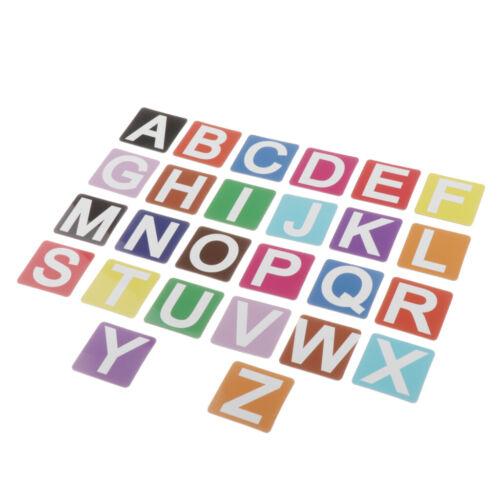 Autocollants Magnétiques De Pâte De Nombre Pour Des Lettres Anglaises