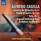 Konzert für Orchester/Pagine di Guerra/Suite von La Vecchia,Orchestra Sinfonica di Roma (2012)