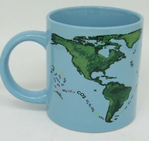 2014 Unemployed Philosophers Guild Global Warming Coffee Cup Mug