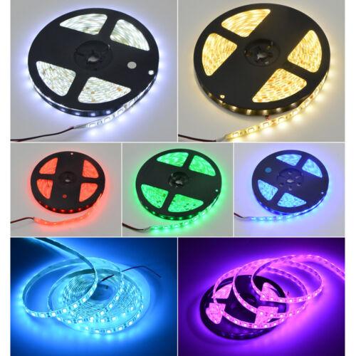 5M Waterproof 300 LED flexible Strip Light 5050 RGB RGBW warm white tape lamp DC