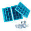 Webake 15-Cavity Silicone Ice Cube Mold 3-pack Ice Cube Tray 1-inch Cubes