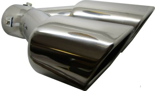 Twin Square Stainless Steel Exhaust Trim Tip Mercedes-Benz GLA-Class 2013-2016