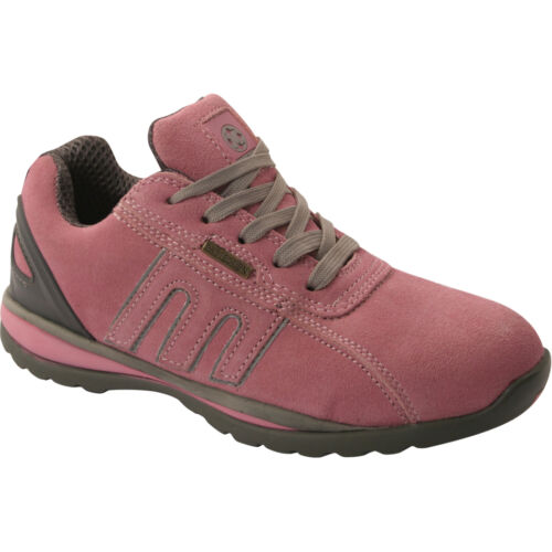 **LADIES SAFETY TRAINERS SHOES BOOTS WORK STEEL TOE CAP ANKLE SIZE 3-8UK WOMENS