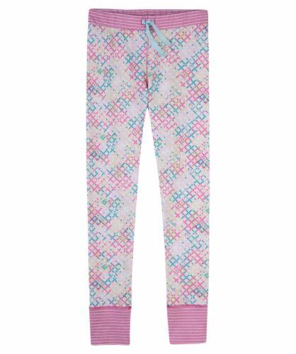 SANETTA ragazza lungo sonno Tuta Pantaloni Colorato Tg 140 152 176