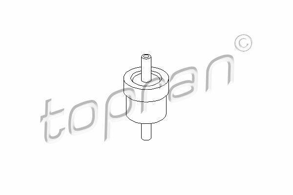 Válvula bajo presión bomba para AUDI SEAT VW