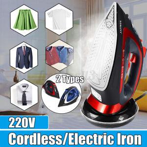 SOKANY Rechargable Cordless Wireless Spray Steam Iron Clothes Steamer 2400W yy