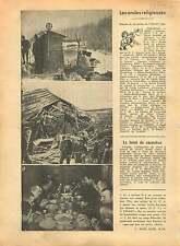 WWII Vosges Section D.C.A. Turbine Hydro-Electrique France 1940 ILLUSTRATION