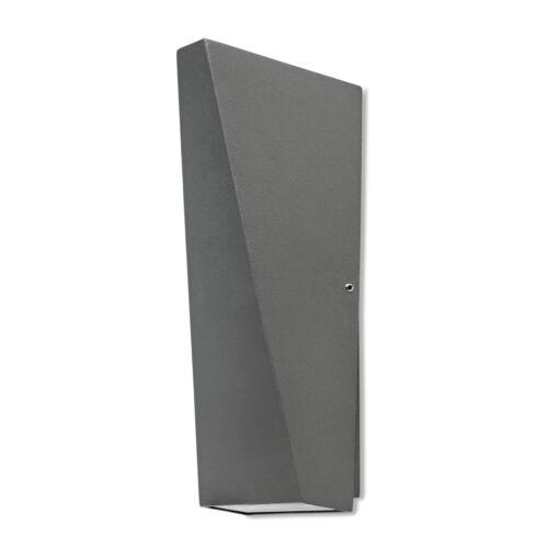 LED Außenleuchte Up /& Down Wandleuchte IP54 LED Außenwandleuchte anthrazit TRILA