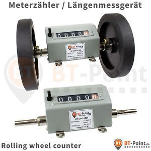 Meterzaehler-fuer-Kabel-Tapete-Folie-Teppich-Laengenzaehler-counter-Laengen-Messgeraet