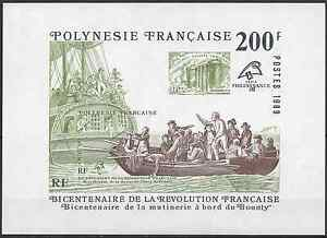 POLYNESIE-FRANCAISE-BLOC-FEUILLET-N-15-NEUF-LUXE-GOMME-D-039-ORIGINE-MNH
