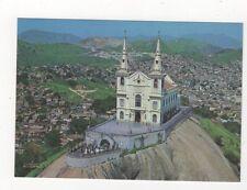 Brazil Rio De Janeiro Vista Aerea Igreja de Penha Postcard 784a