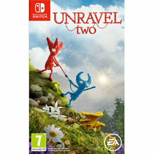 Unravel 2 Two NINTENDO SWITCH New and Sealed Yarny