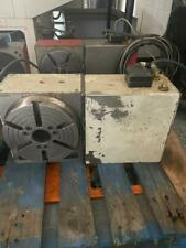 Used Haas Hrt 210 Brush White Sigma 1 Rotary Table Indexer 4th Axis A Axis
