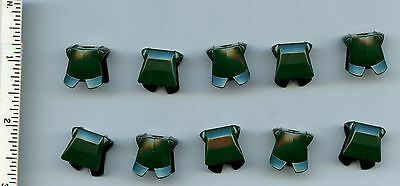 Armor Breastplate with Leg Protection castle LEGO x 10 Medium Blue Minifig