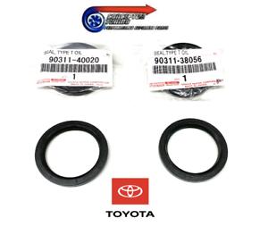 Gen-Toyota-Pair-Camshaft-Cam-Oil-Seals-For-JZX100-Chaser-Cresta-Mk2-1JZ-GTE-VVTi