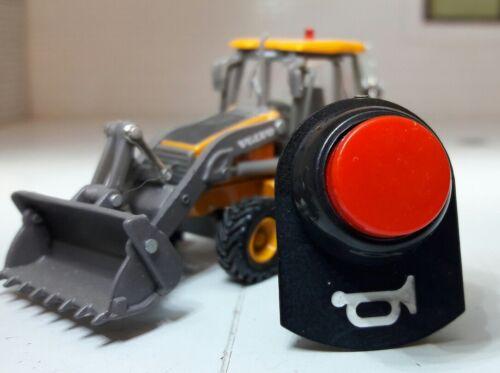 Kit classique voiture tracteur usine camion poussoir momentané interrupteur bouton horn /& tab