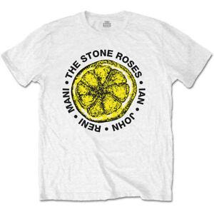 d0aba348309 Image is loading The-Stone-Roses-Lemon-Names-Official-Men-039-