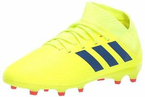 adidas NEMEZIZ 18.3 FG J Kids Yellow Blue Red CM8505 Firm Ground ... 494e1fd45a3