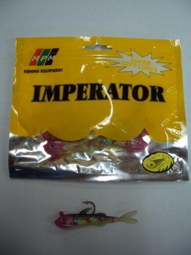 inkl 8 cm Bleikopf Gummifische MPM Imperator Super Soft Lures 6 Stück