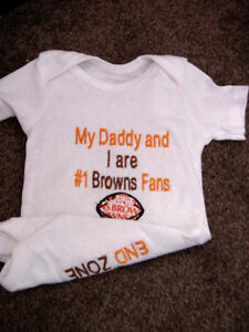 Cleveland Browns Football NFL Baby Infant Newborn Boys