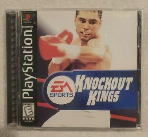 COMPLETE-Knockout-Kings-2000-Sony-PlayStation-1-PS1-1999-Game-Case-Manual-CIB