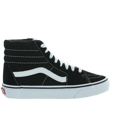 Scarpe da Donna Uomo Vans SK8-Hi VN000D51B8C1 Nero Bianco skate collo alto nuovo | eBay