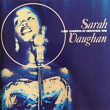 Les Chefs-d'Oeuvres de Sarah Vaughan - CD
