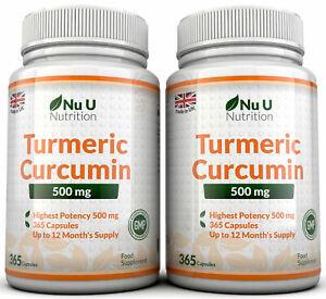 La-Curcuma-Curcumina-2-X-365-capsulas-500-mg-anti-inflamatorio-nu-u-Nutricion