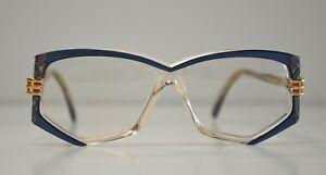 fe25d837a9f Cazal Vintage Eyeglasses - NOS-Model 322 -Col.258 -Gold   Blue ...