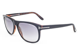 28dffd8a25c1 Image is loading Tom-Ford-Olivier-Black-Havana-Gray-Gradient-Sunglasses-
