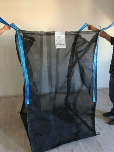 5 x  Holz Big Bag 100x100x120cm Holzbag für Kaminholz Woodbag vom Hersteller