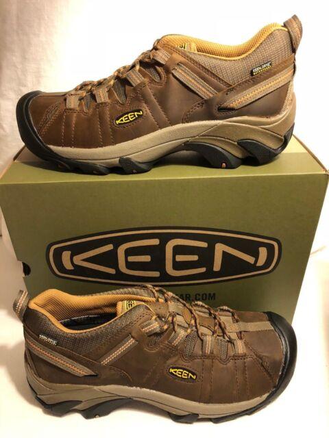 600ad351ff6 KEEN Targhee 2 Waterproof Hiking Shoe Cascade Brown/brown Sugar Uk12